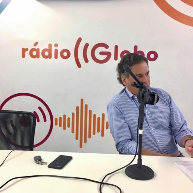Carlos Arnaldo na Rádio Globo