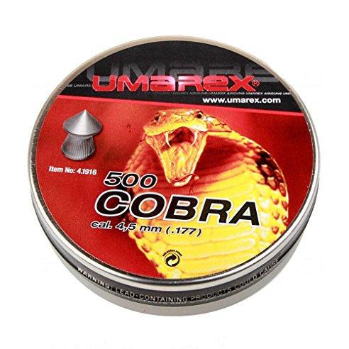 Strelivo Diabolo Umarex Cobra 500 kal. 4,5 mm
