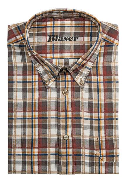 Košeľa Blaser Georg - popelín / dlhý rukáv