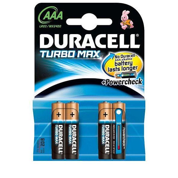 Duracell Turbo MAX AAA - 4ks