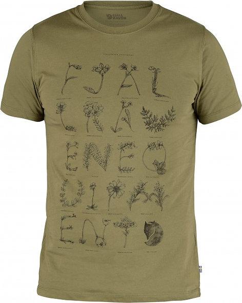 Fjällräven tričko ALPHABOTANICAL