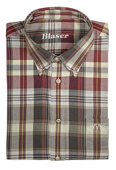 Košeľa Blaser Felix - flanel / dlhý rukáv