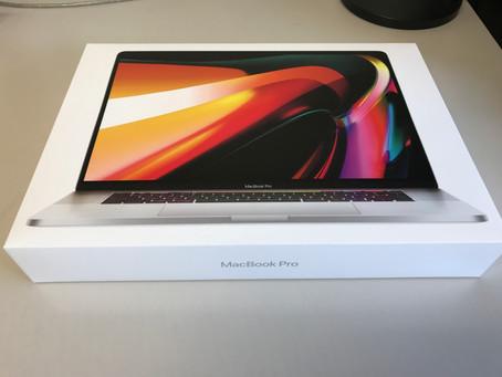 MacBookPro到着!