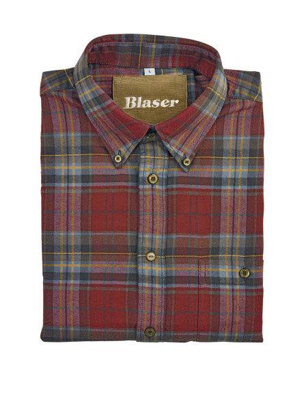 Košeľa Blaser Max - flanel / dlhý rukáv