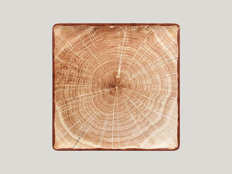 RAK Woodart - štvorcový tanier 30,2cm