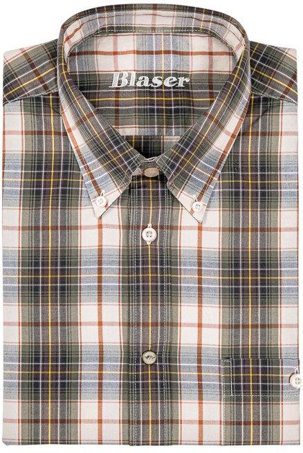 Košeľa Blaser Luca - popelín / dlhý rukáv