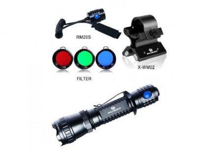 Poľovnícke svietidlo set OLIGHT M20SX Javelot KIT HS3 820 lm