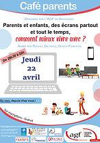 20210422 Parents et enfants, des écrans
