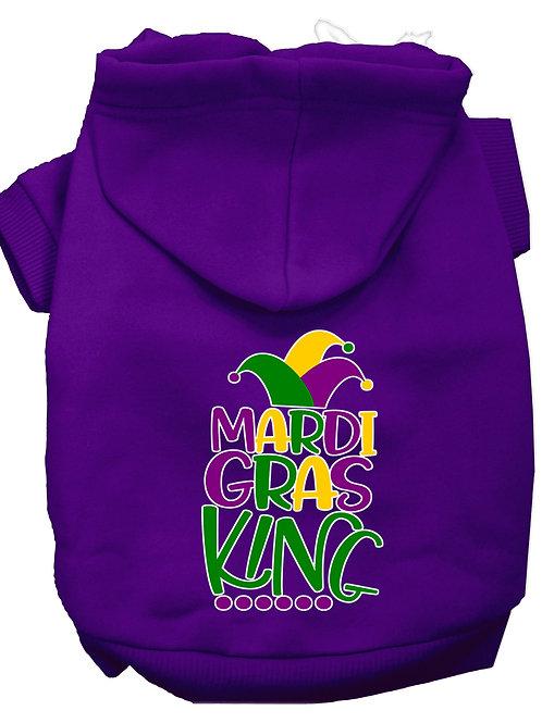 Mardi Gras Hoodie- Mardi Gras King