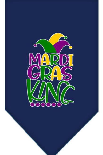 Mardi Gras Bandana- Mardi Gras King