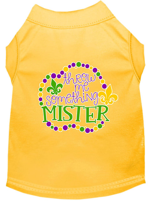 Mardi Gras T-Shirt- Throw Me Something Mister