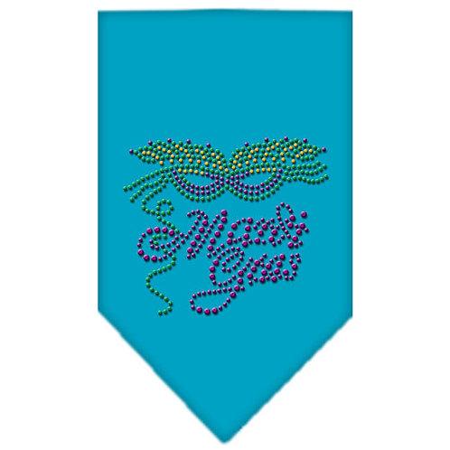 Mardi Gras Bandana-Mardi Gras Rhinestone