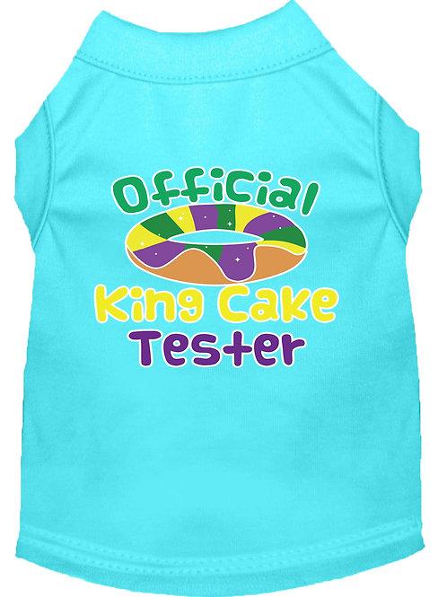 Mardi Gras T-Shirt- King Cake Tester
