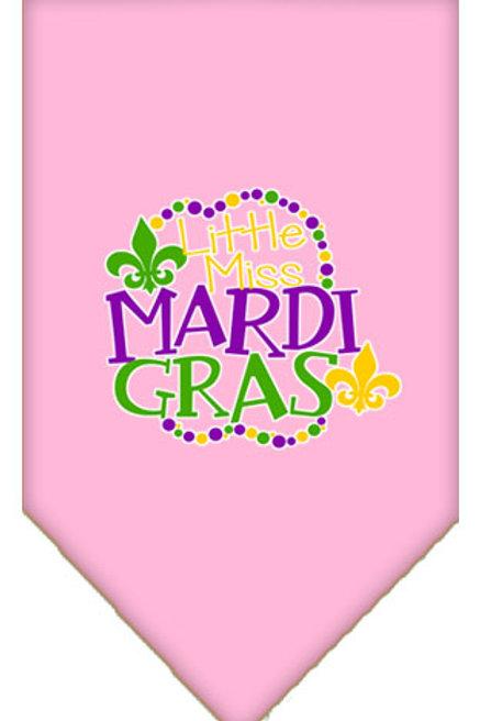 Mardi Gras Bandana- Little Miss Mardi Gras