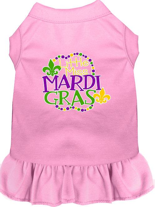 Mardi Gras Dress- Little Miss Mardi Gras