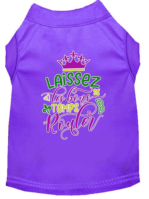 Mardi Gras T-Shirt- Laissez Les Bon Temps Rouler