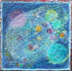 56.水玉の宇宙