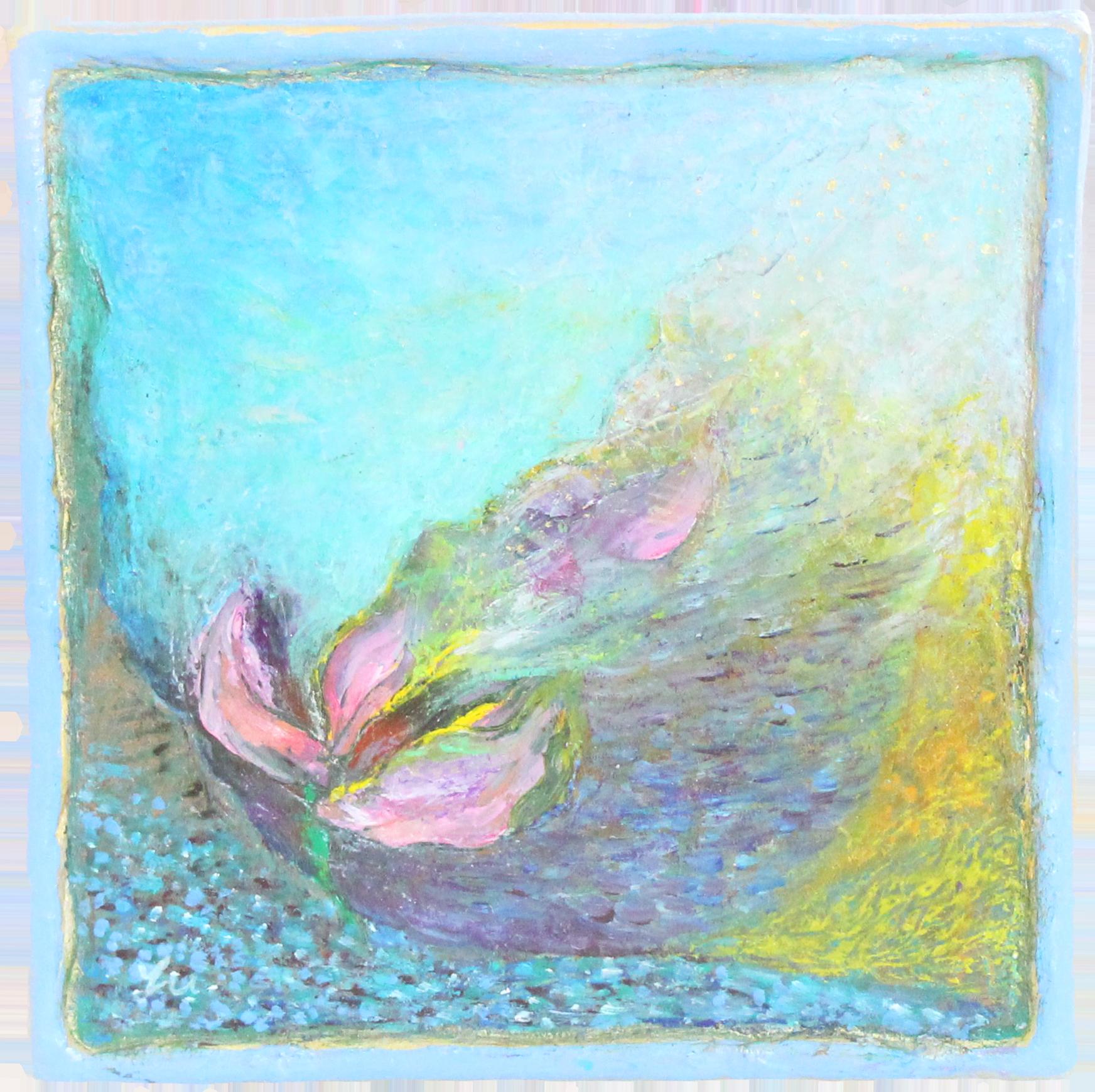 224.谷間に咲く花