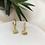 Thumbnail: Tasarım Mini Taşlı Minimal Göz Küpe