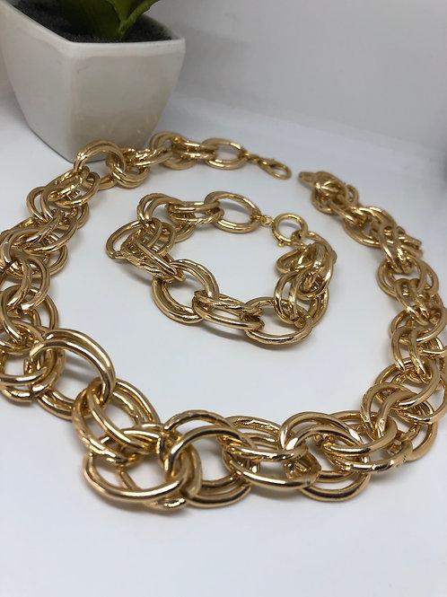 Bohem Gold Bileklik