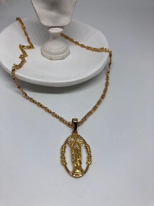 Meryem Gold Kolye