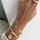 Thumbnail: Elegan Gold Yüzük