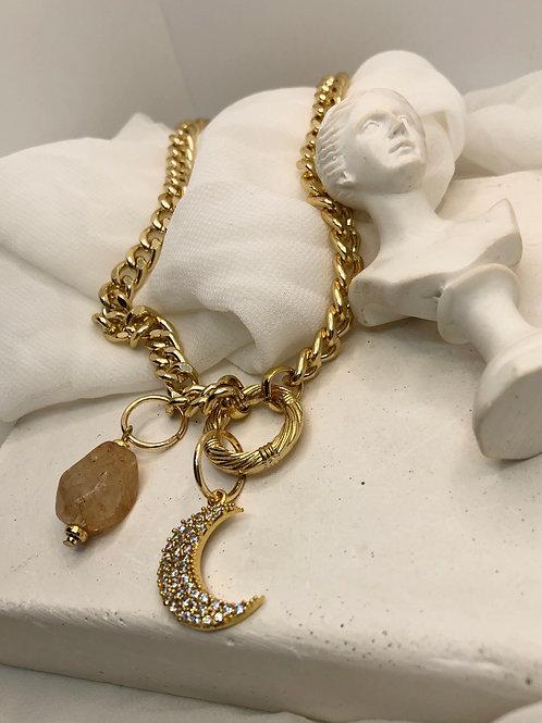 The Romantika Gold Kolye