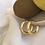 Thumbnail: Bombe Gold Küpe