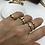 Thumbnail: Altın Kaplama Mini Göz Yüzük