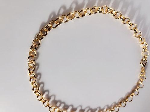 Sparkly Circle Chain | Kolye