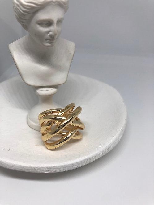 Sarmal Gold Yüzük