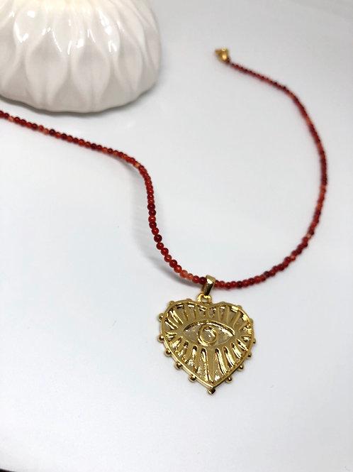 Heart Akik Kolye