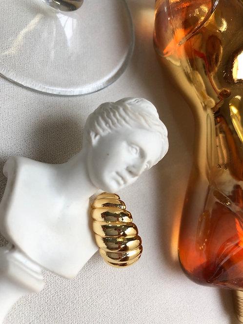 Vintage Gold Burgu Yüzük