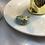 Thumbnail: Mint Çiçek Motifli Yüzük