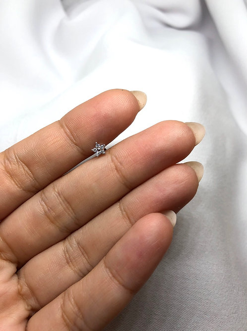 Mini Flower Piercing