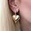 Thumbnail: Gold Taşlı Küpe