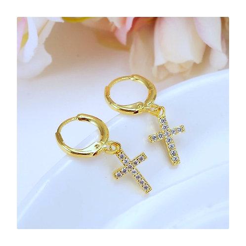 Mini Cross Küpeler