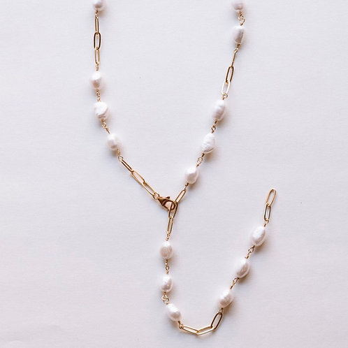 Pearl Cable Chain