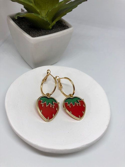 Strawberry | Küpe