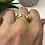 Thumbnail: Yeşil Taşlı Kaplan Yüzük