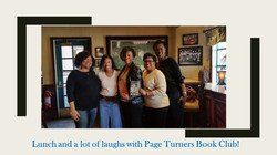 Page Turners Book Club