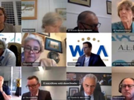 El Presidente de ALEA, Omar Galdurralde, participó de la reunión del Comité Ejecutivo de la WLA