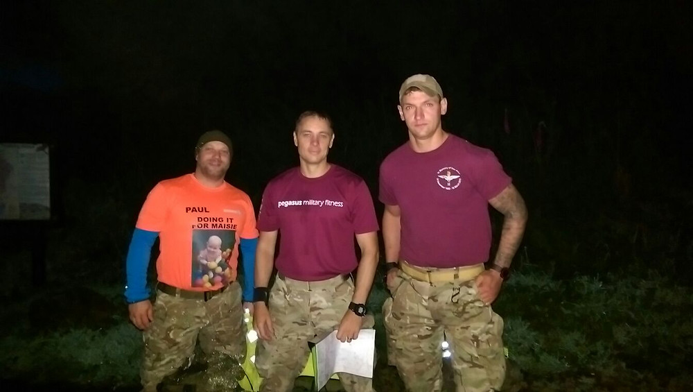 Paul, Mark and Alex from Pegasus Military Fitness at Commando Shuffle