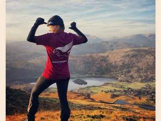 Pegasus Kit In A Cool Location: Sarah Welsh, Lake District