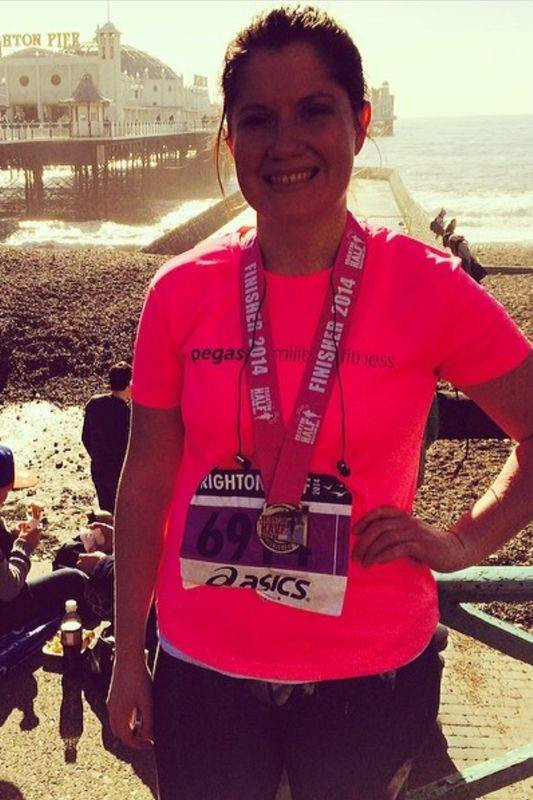 Pegasus Military Fitness - Liana Williams - Brighton Half Marathon 2014.jpg