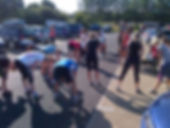 Photo of Pegasus Military Fitness warm-down at Chingford Plain