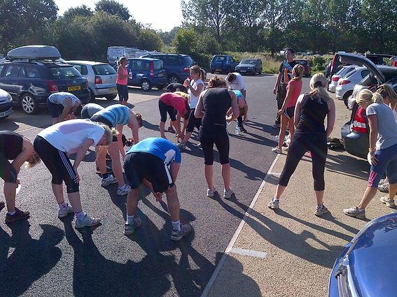 Photo of Pegasus Military Fitness warm-down at Chingford Plain