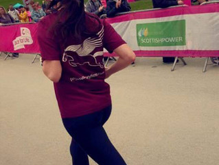 Sarah at Delamere Forest Race For Life