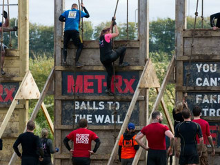 Liz Hawkins at Tough Mudder London South