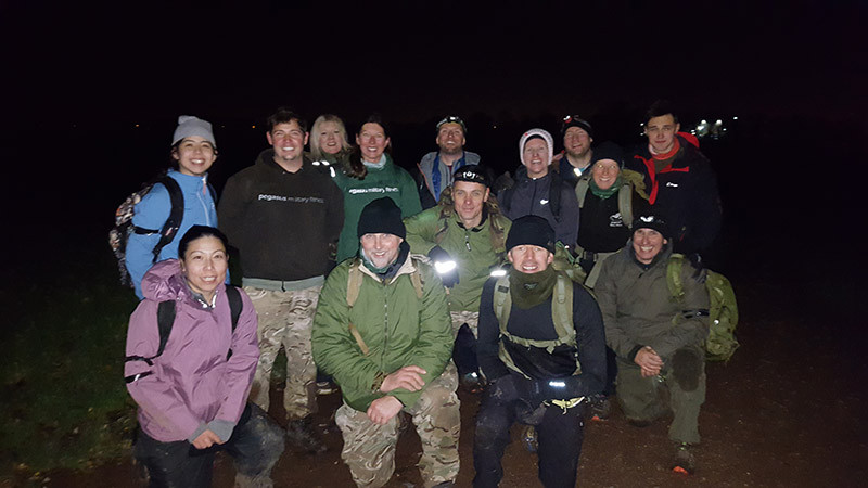 Pegasus Military Fitness Hell Day in Epping Forest